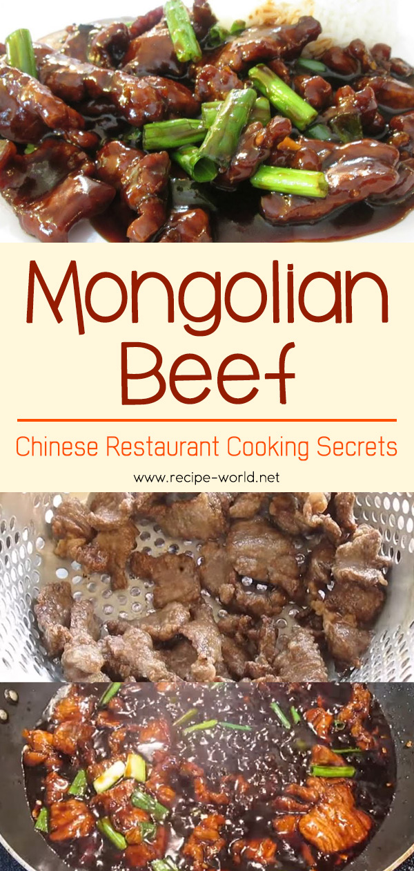 Mongolian Beef - Chinese Restaurant Cooking Secrets