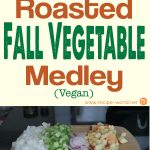 Roasted Fall Vegetable Medley (Vegan)