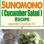 Sunomono (Cucumber Salad) Recipe – Japanese Cooking 101
