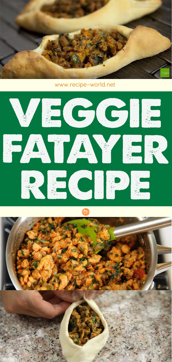 Veggie Fatayer Recipe