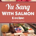 Yu Sang With Salmon Recipe