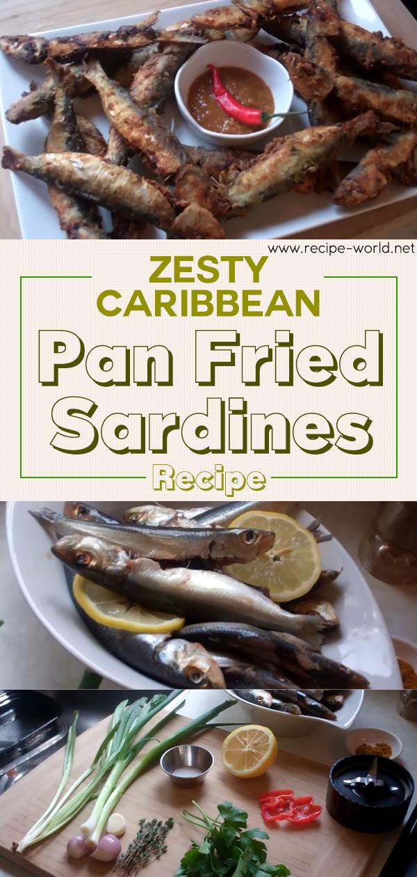 Zesty Caribbean Pan Fried Sardines Recipe