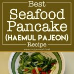 Best Seafood Pancake – Haemul Pajeon Recipe