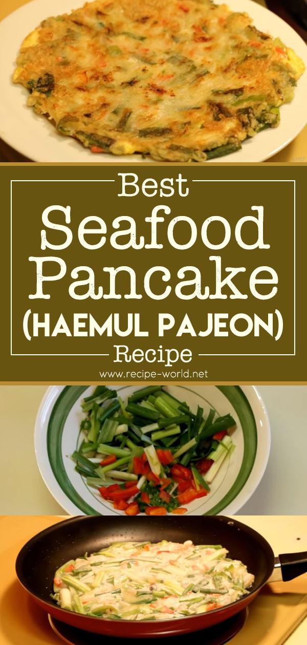 Best Seafood Pancake - Haemul Pajeon