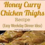 Honey Curry Chicken Thighs Recipe – Easy Weekday Dinner Idea