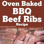 Oven-Baked BBQ Beef Ribs Recipe