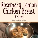 Rosemary Lemon Chicken Breast Recipe