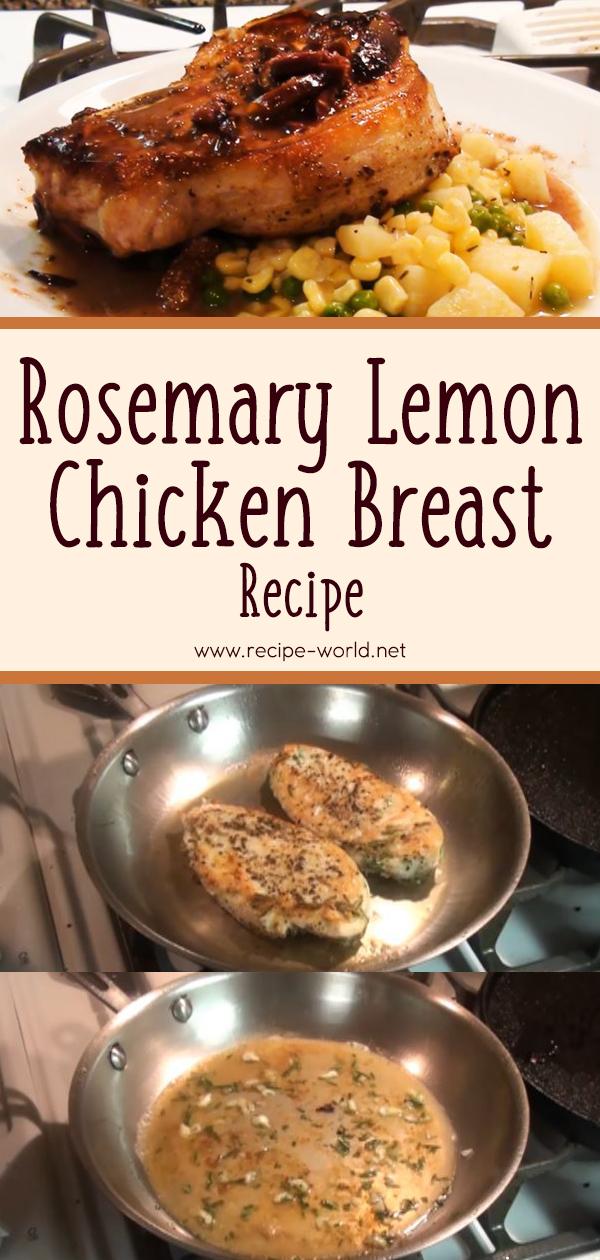 Rosemary Lemon Chicken Breast Recipe
