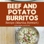 Beef-and-Potato Burritos Recipe – Martha Stewart
