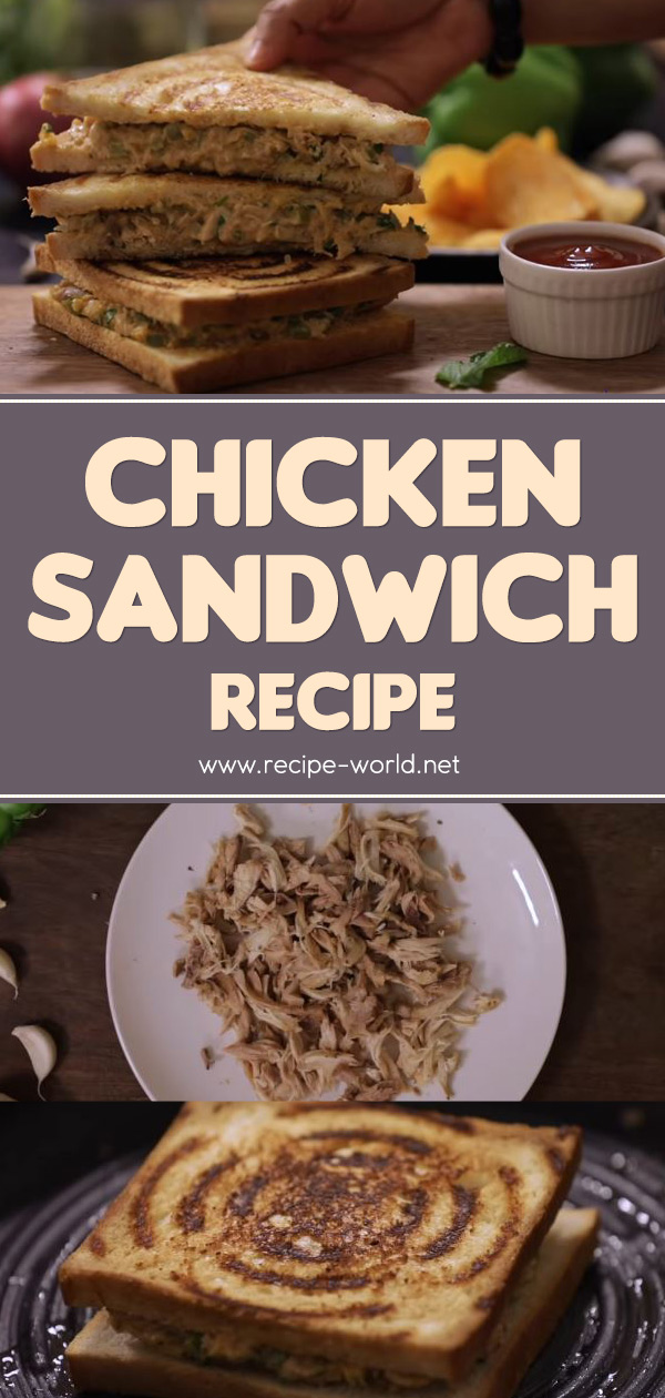 Chicken Sandwich Recipe - Ramadan Recipes
