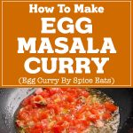 Egg Masala Curry Recipe