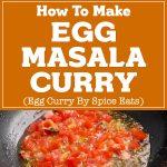 Egg Masala Curry Recipe