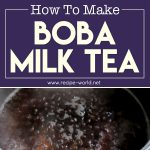 How To Make Boba Milk Tea