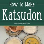How To Make Katsudon