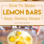 Lemon Bars | Easy, Healthy Recipe