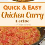 Quick and Easy Chicken Curry Recipe