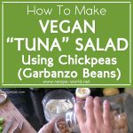 "Vegan ""Tuna"" Salad Using Chickpeas (Garbanzo Beans)"