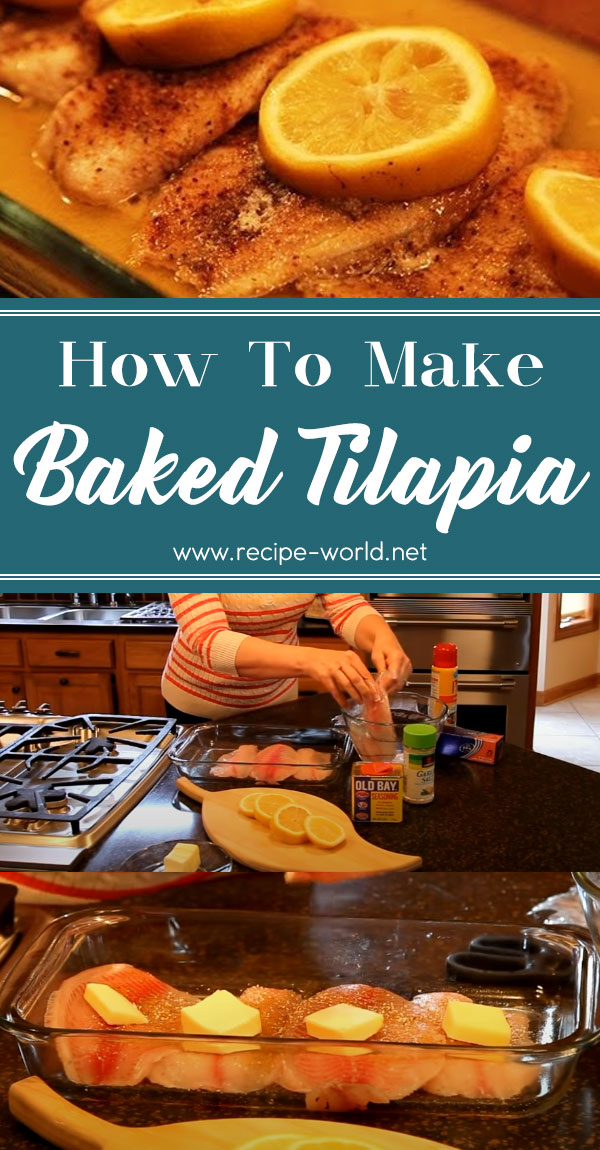 Baked Tilapia