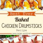 Best Ever Baked Chicken Drumsticks – Easy Baked Chicken Recipe