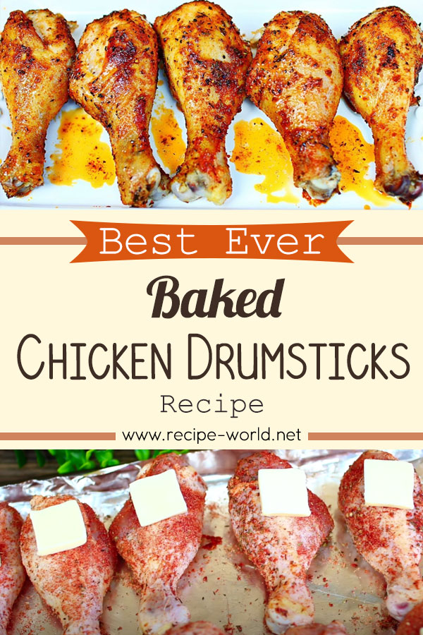 Best Ever Baked Chicken Drumsticks