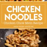 Chicken Noodles Recipe | Chicken Chow Mein Recipe | Chicken Fried Noodles Recipe