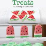 DIY Watermelon Treats!