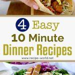 EASY 10 Minute Dinner Recipes | Healthy Dinner Ideas