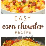 Easy Corn Chowder Recipe