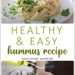 How To Make Hummus | Healthy & Easy Hummus Recipe