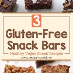 Healthy Vegan Snack Ideas | 3 Gluten-Free Snack Bars