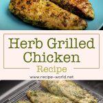 Herb Grilled Chicken Recipe | Healthy Grilled Chicken