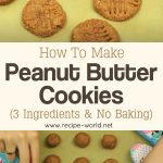 How To Make Healthy Peanut Butter Cookies! 3 Ingredients & No Baking!