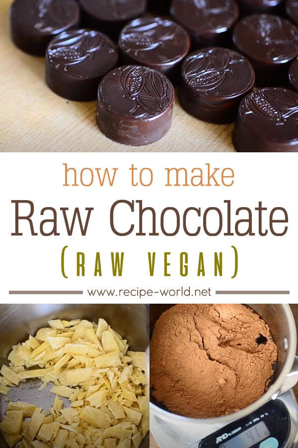 How To Make Raw Chocolate (Raw Vegan)