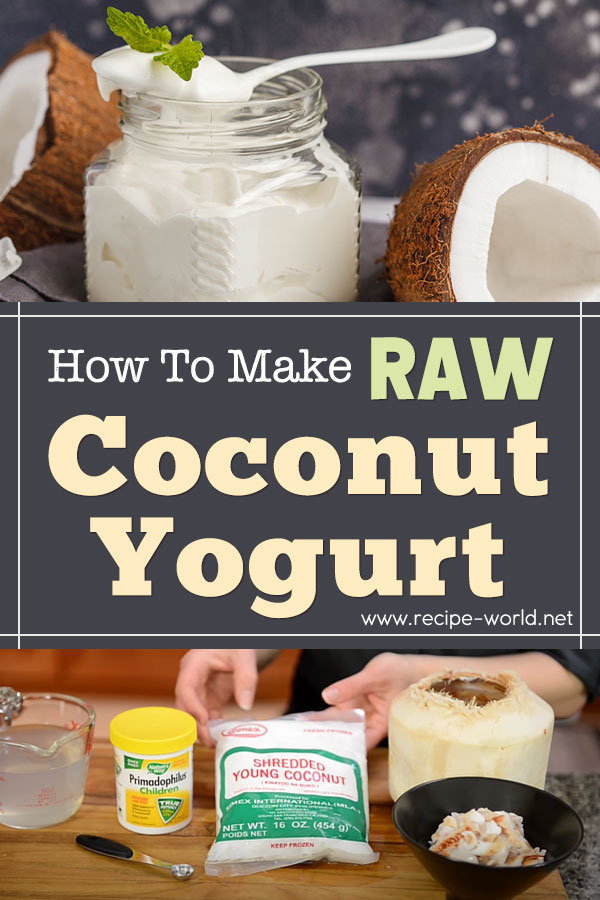 How To Make Raw Coconut Yogurt