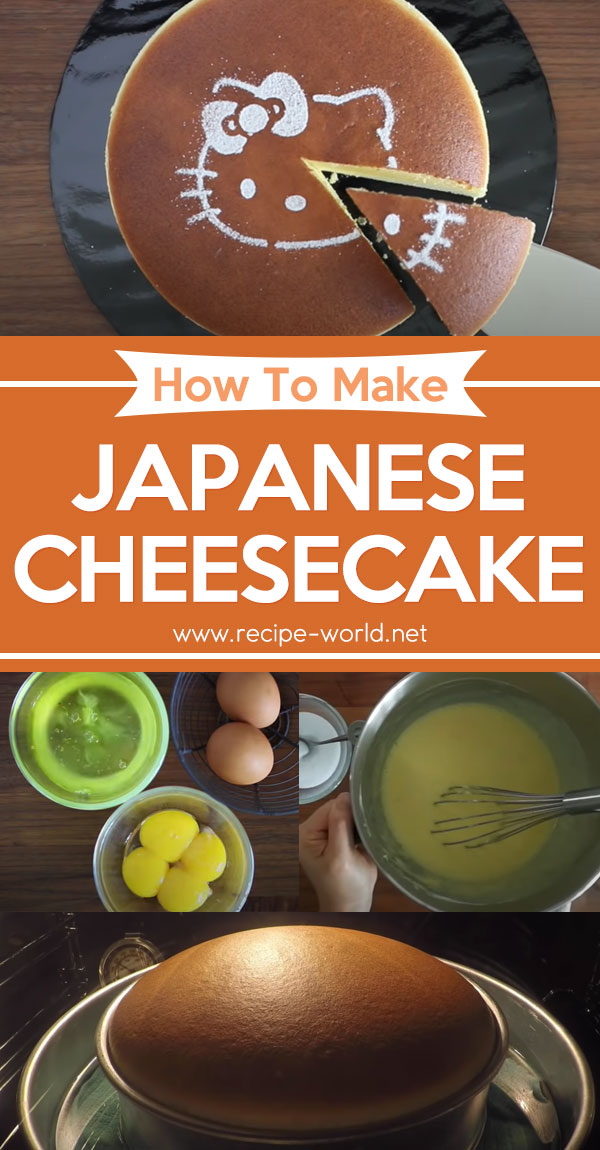 Japanese Cheesecake - Delicious Baking Recipe