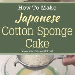 Japanese Cotton Sponge Cake