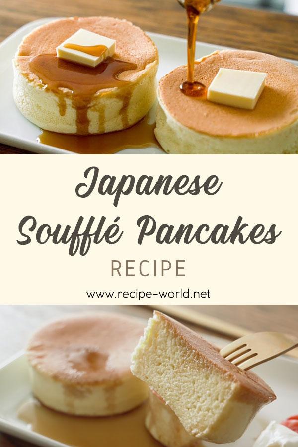 Japanese Soufflé Pancakes Recipe