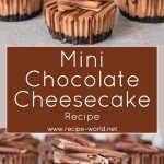 Mini Chocolate Cheesecakes Recipe