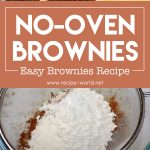 No-Oven Brownies | Easy Brownies Recipe