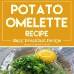 Potato Omelette Recipe   Easy Breakfast Recipe   Easy Snacks Recipe   Kids Tiffin Box Idea