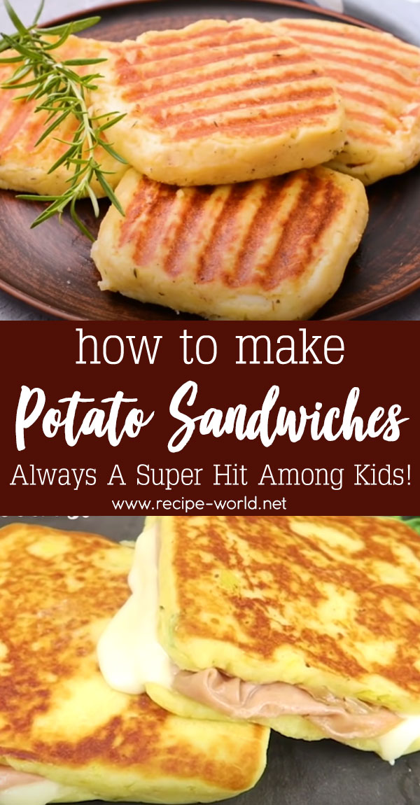 Potato Sandwiches - Always A Super Hit Among Kids!