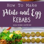 Potato and Egg Kebabs