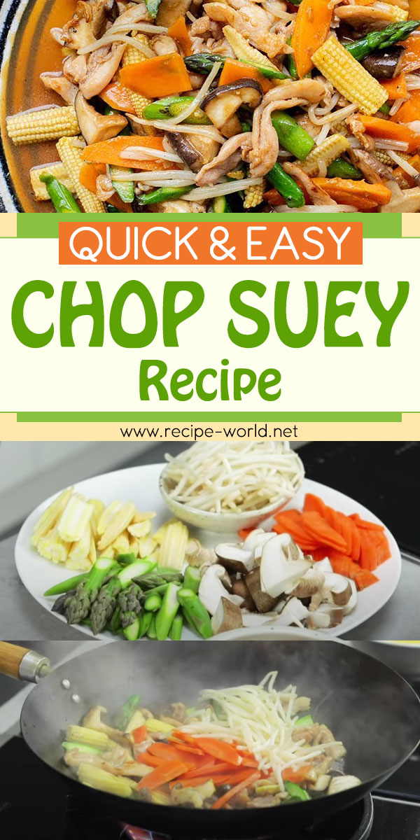 Quick and Easy Chop Suey Recipe! - Wok Wednesdays