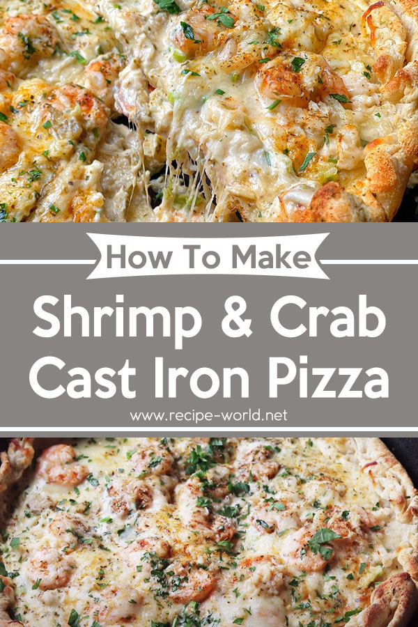 Shrimp & Crab Cast Iron Pizza