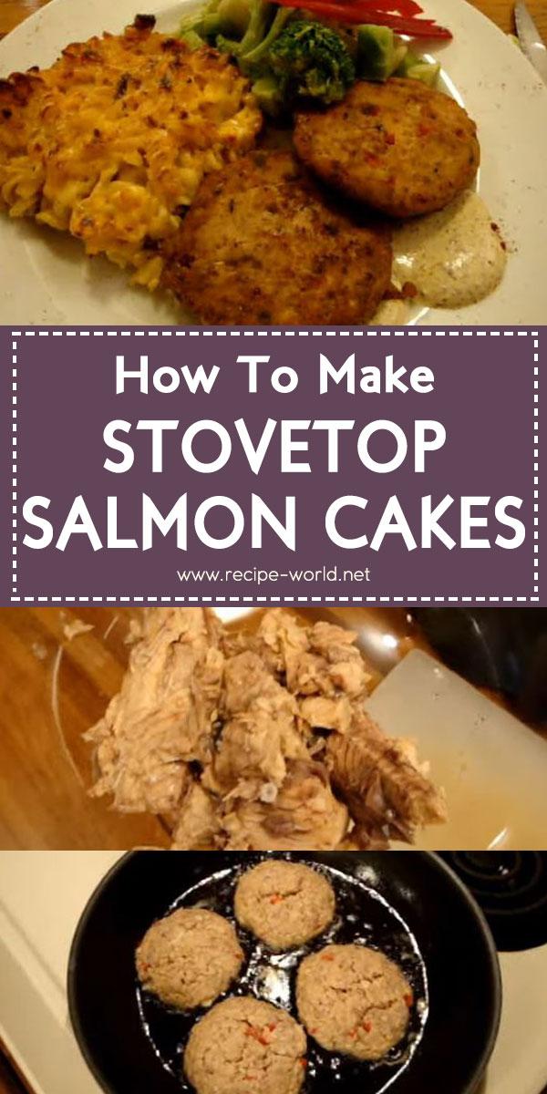 Stovetop Salmon Cakes