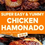 Super Easy And Yummy Chicken Hamonado Recipe