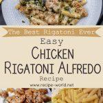 The Best Rigatoni Ever! | Easy Chicken Rigatoni Alfredo Recipe