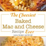 The Cheesiest Baked Mac And Cheese Ever! | 5 Cheese Mac And Cheese No Roux No Eggs