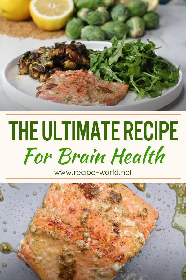 The Ultimate Recipe For Brain Health by Max Lugavere