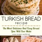Turkish Bread – The Most Delicious And Easy Bread You Will Ever Make!